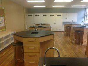 MTEC Science Lab Custom Stations