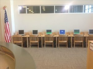 Carver High School Computer Tables