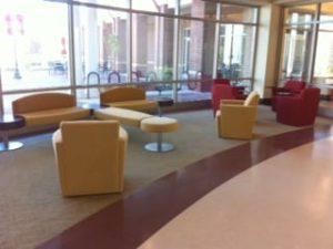 Tuskegee University Lobby Seating